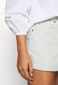 Dr.Denim Petite - JEN - Denim shorts - washed pinfire - 3