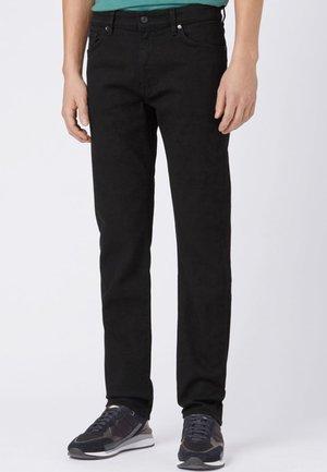 MAINE Straight Leg - Trousers - black