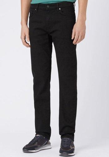 MAINE Straight Leg - Pantalon classique - black