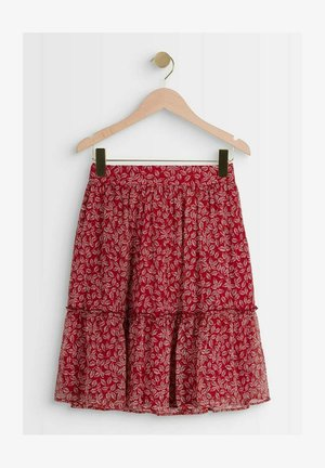 A-line skirt - rouge