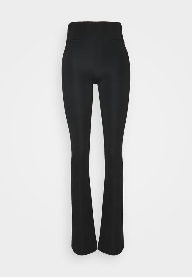 OBJLERA PANTS - Leggings - Trousers - black