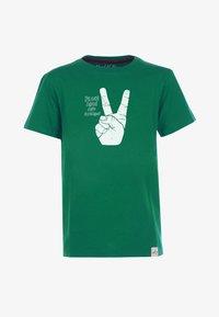 Band of Rascals - PEACE - Print T-shirt - dark-green - 0