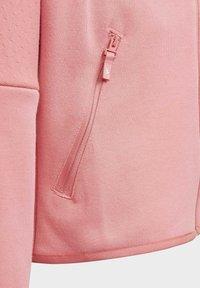 adidas Performance - ADIDAS Z.N.E. LOOSE FULL-ZIP HOODIE - Zip-up sweatshirt - pink - 4