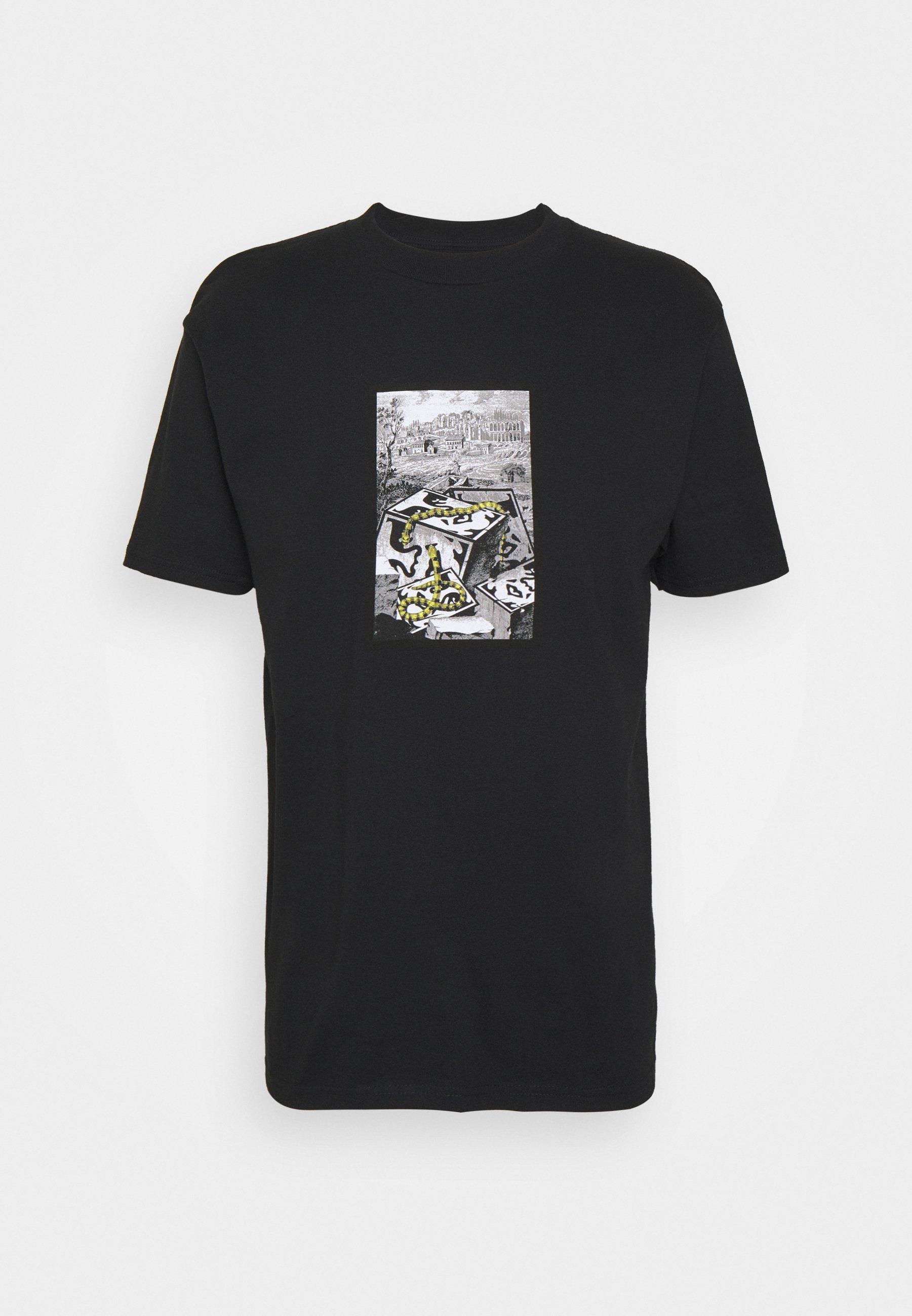 Uomo SNAKES - T-shirt con stampa