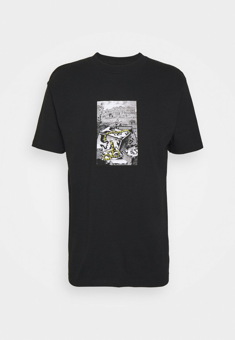 Obey Clothing - SNAKES - Printtipaita - black