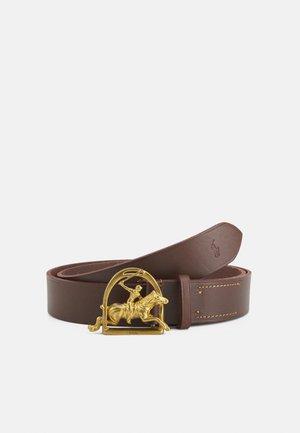 BELT MEDIUM - Belt - brown