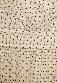 By Malina - LIONA DOTTED DRESS - Cocktailjurk - soft beige - 2