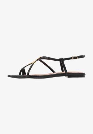 LERINNA - T-bar sandals - black
