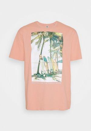 SURF - Print T-shirt - pink