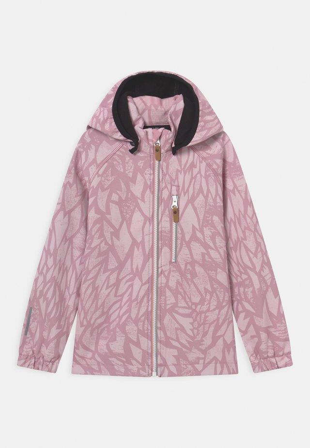 VANTTI UNISEX - Softshelljas - rosy pink