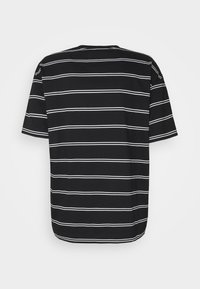 Good For Nothing - OVERSIZED FLAME STRIPE UNISEX - Triko s potiskem - black - 1