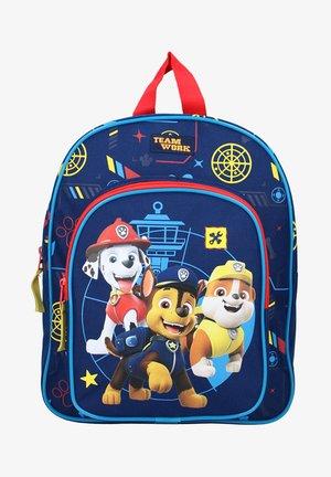 ALL PAWS ON DECK - School bag - blau