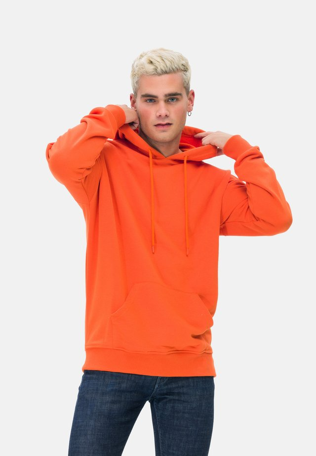 KAPUZENSWEATSHIRT MAN SWEATSHIRT - Hoodie - orange