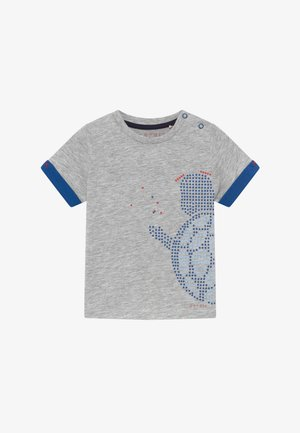 T-SHIRT SS BABY - Print T-shirt - heather silver