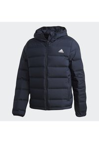 adidas Performance - HELIONIC OUTDOOR HOODED DOWN - Chaqueta de plumas - blue - 11