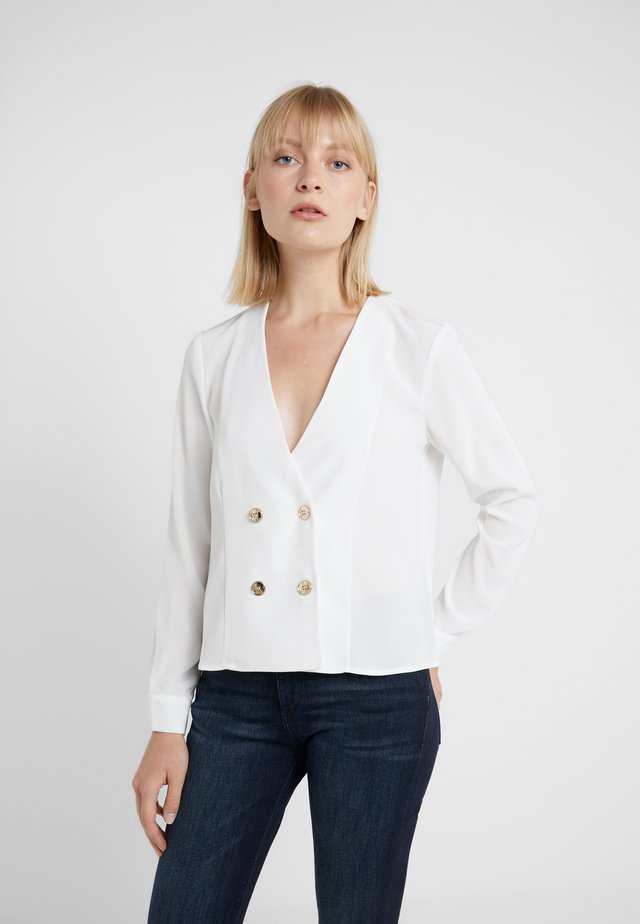 ARLENE LONG SLEEVE BLOUSE - Pusero - ivory