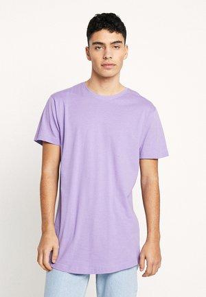 SHAPED LONG TEE DO NOT USE - Basic T-shirt - lavender