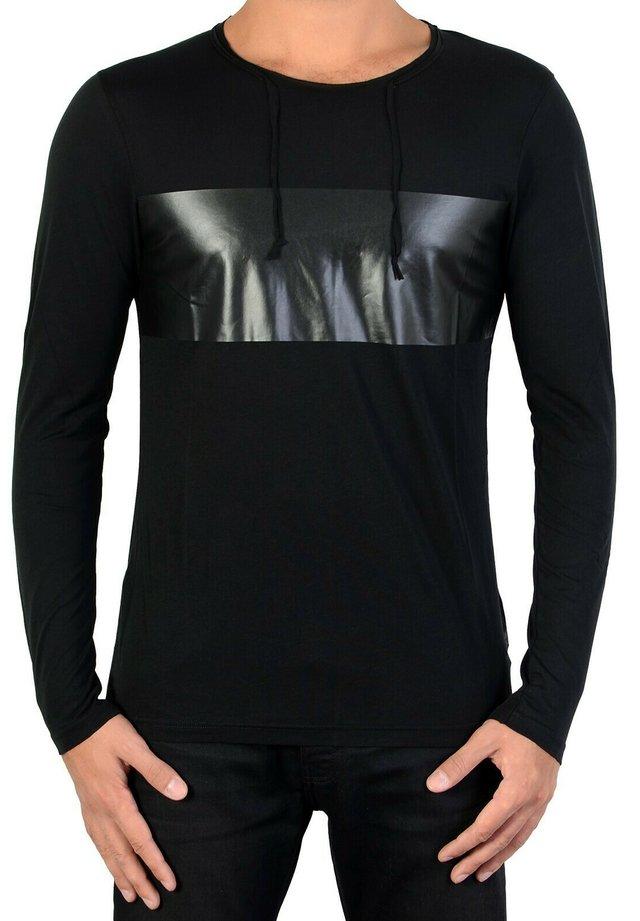KRUGER - T-shirt à manches longues - black
