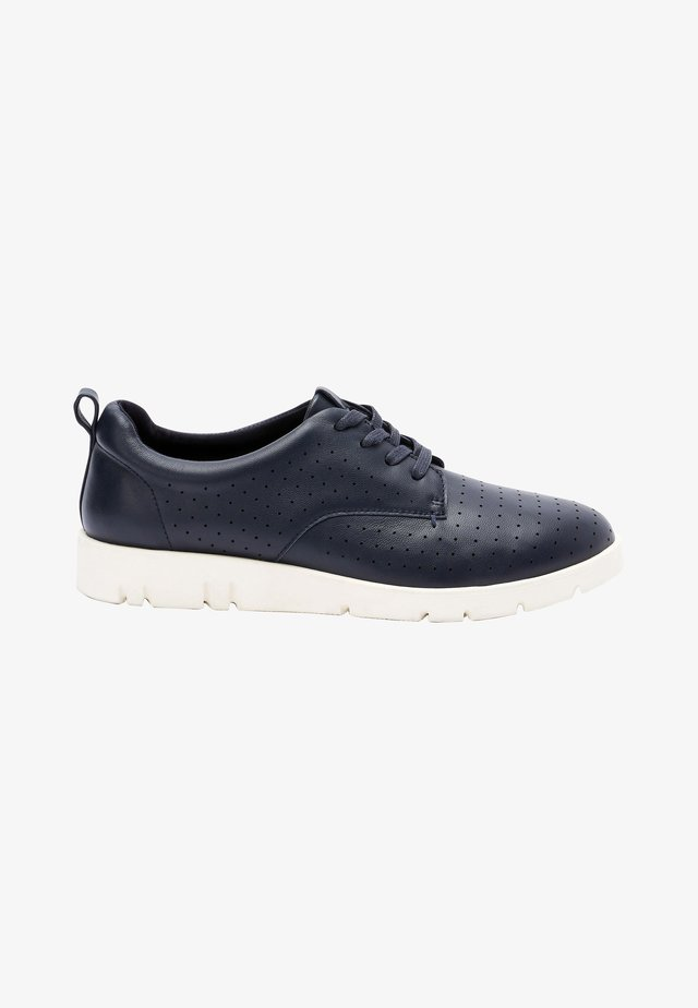 MOTION FLEX - Volnočasové šněrovací boty - dark blue