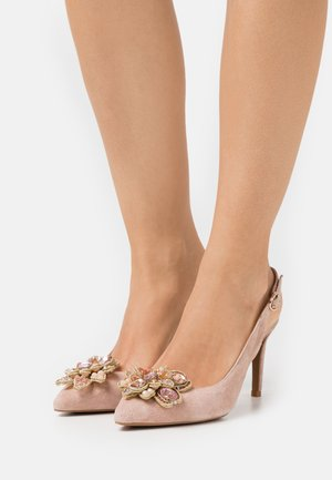 Classic heels - old pink