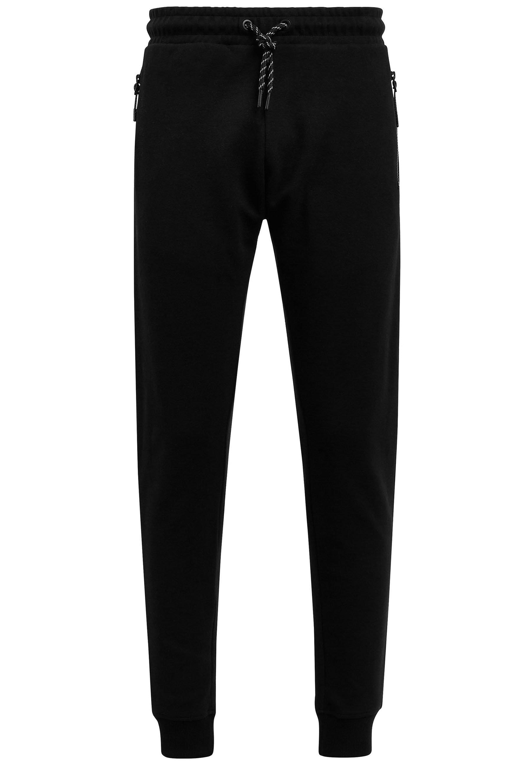 Homme BLACK SKINNY JOGGERS - Pantalon de survêtement