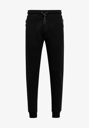 BLACK SKINNY JOGGERS - Tracksuit bottoms - black