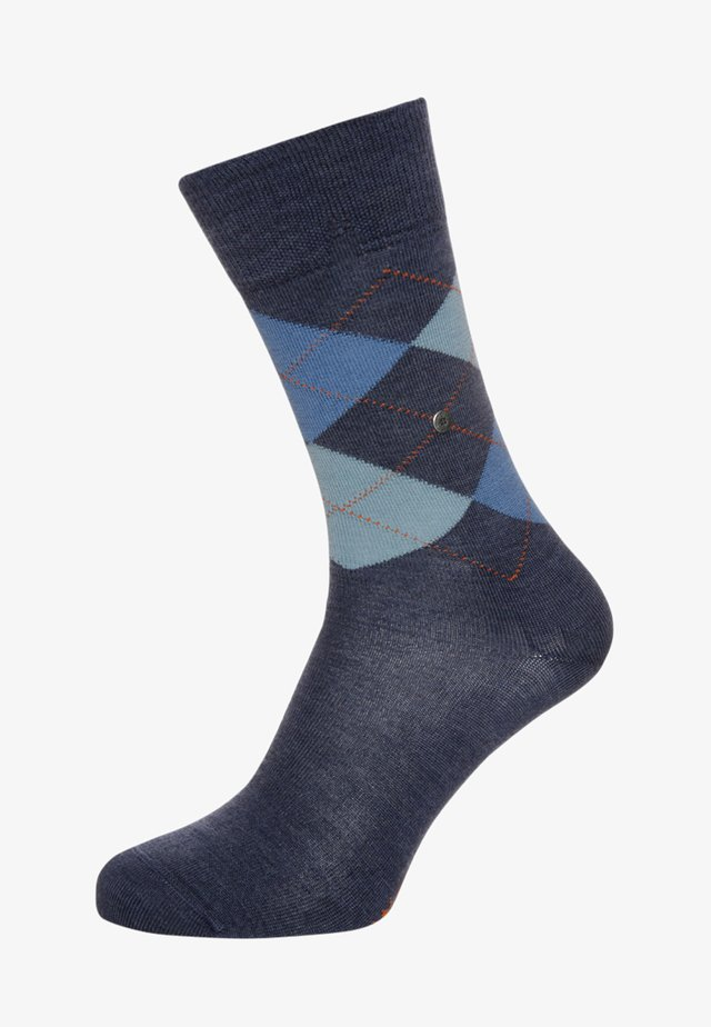 EDINBURGH - Socks - dark blue