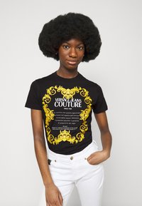 Versace Jeans Couture - LADY - Print T-shirt - black - 3