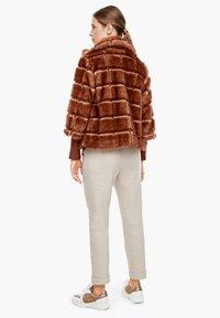 s.Oliver BLACK LABEL - Winterjacke - fake fur - 2