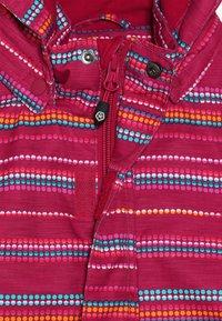 Color Kids - DONJA PADDED JACKET - Ski jacket - raspberry - 3
