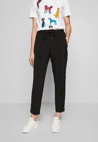 Bruuns Bazaar - RUBY PANT - Trousers - black - 0
