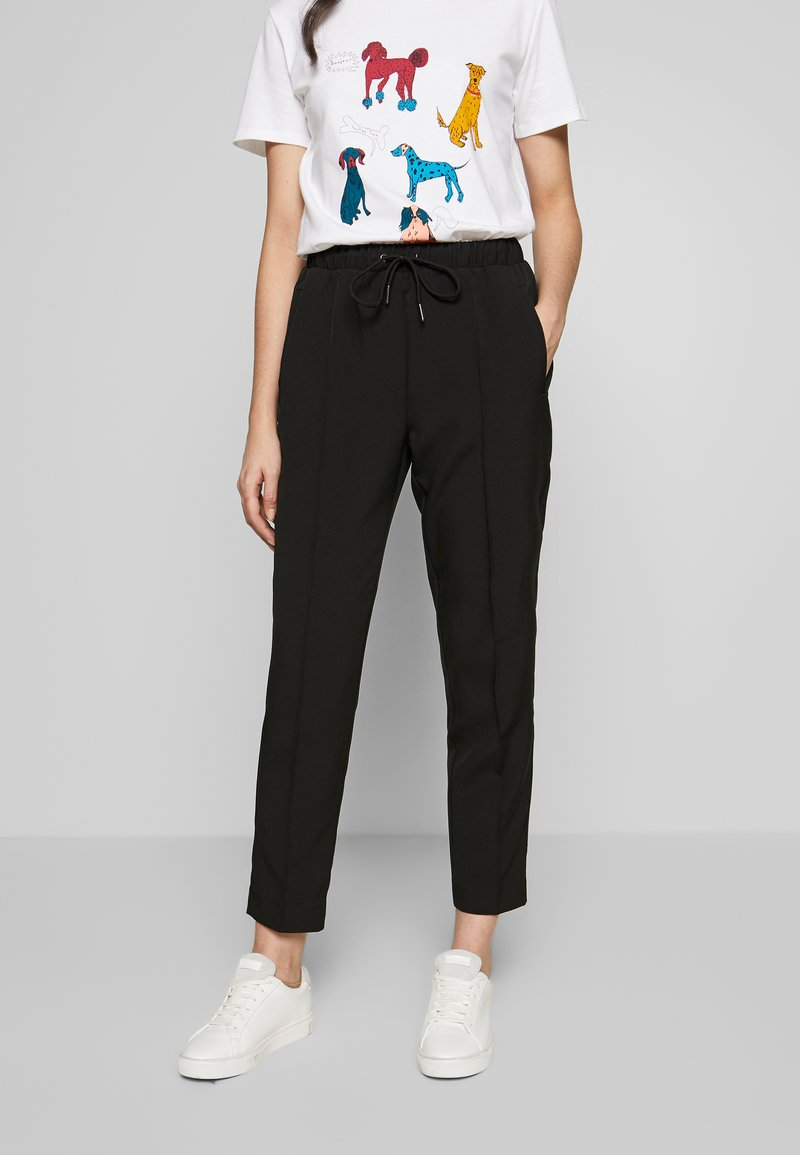 Bruuns Bazaar - RUBY PANT - Trousers - black