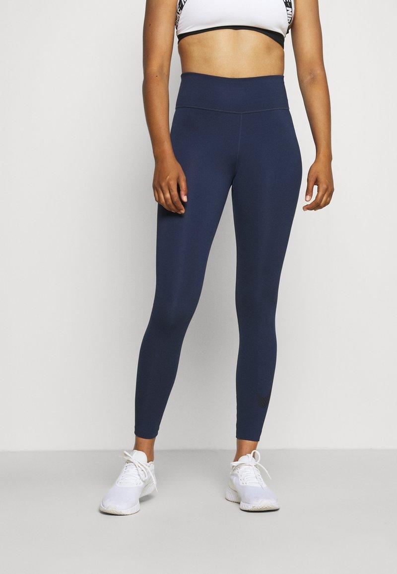 Nike Performance - ONE - Tights - midnight navy/black