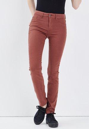 Jeans Skinny Fit - marron foncé