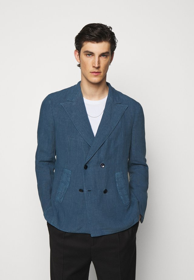 Blazer jacket - blue denim
