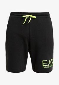 EA7 Emporio Armani - Träningsbyxor - black / neon / yellow - 5