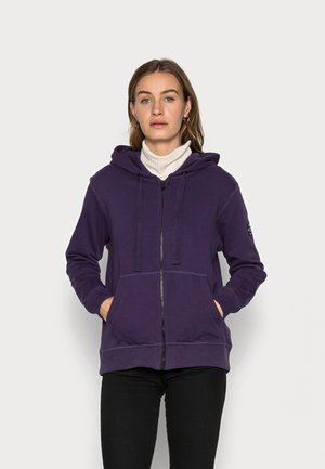 BASICALF WOMAN HOODIE - Vetoketjullinen college - purple