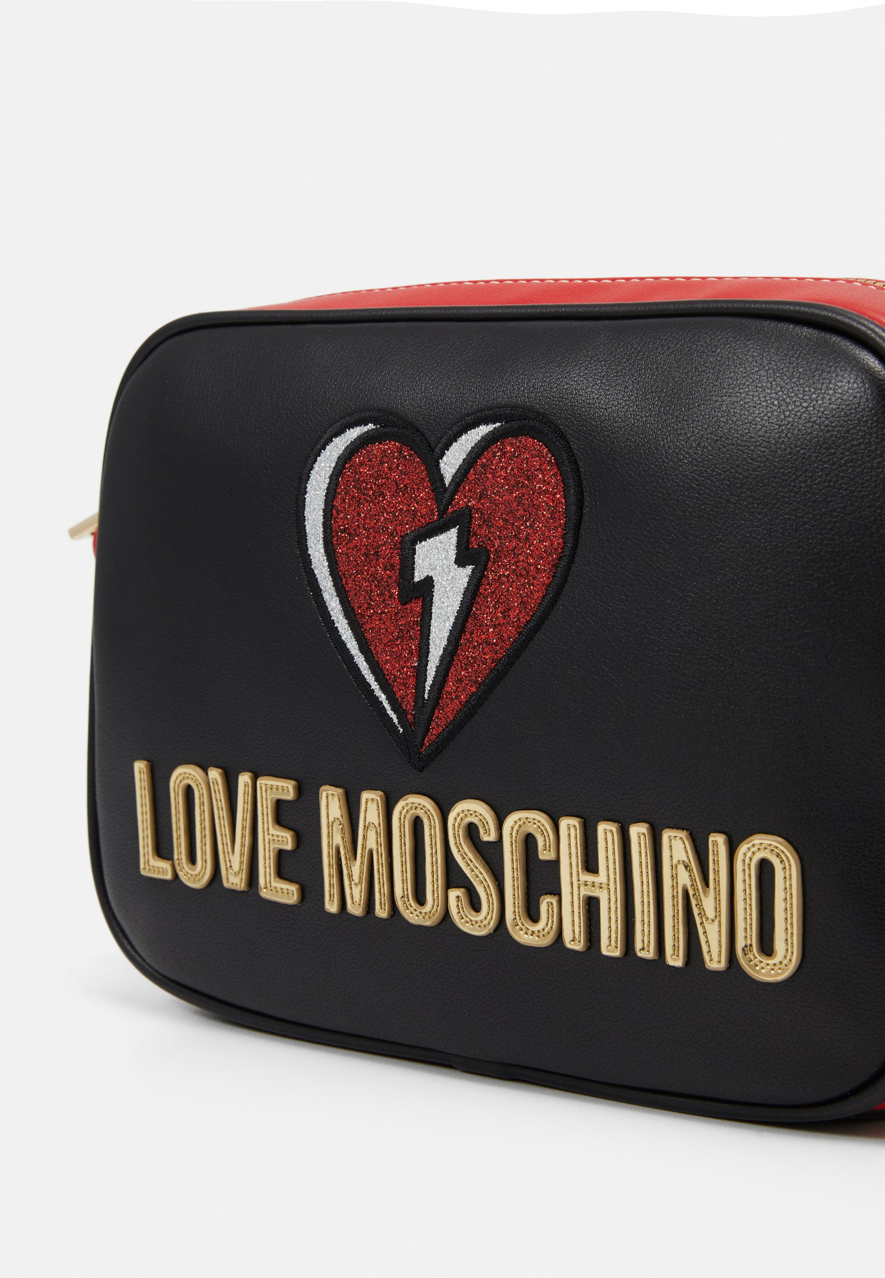 Love Moschino OUT OF THE BLUE - Skulderveske - black/svart gWp6WZ2jySkJ6O0