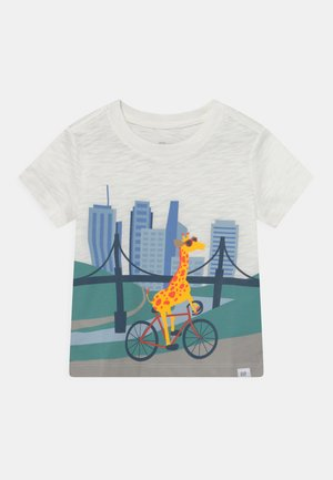 TODDLER BOY BETTER GRAPHIC - T-shirt print - new off white