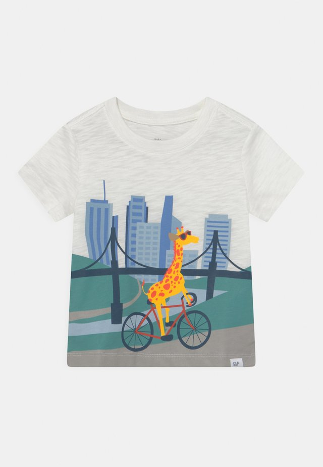 TODDLER BOY BETTER GRAPHIC - T-shirt con stampa - new off white
