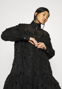 Custommade - ELORIE - Day dress - anthracite black - 4