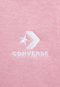 Converse - FOUNDATION HOODIE - Bluza z kapturem - lotus pink - 2