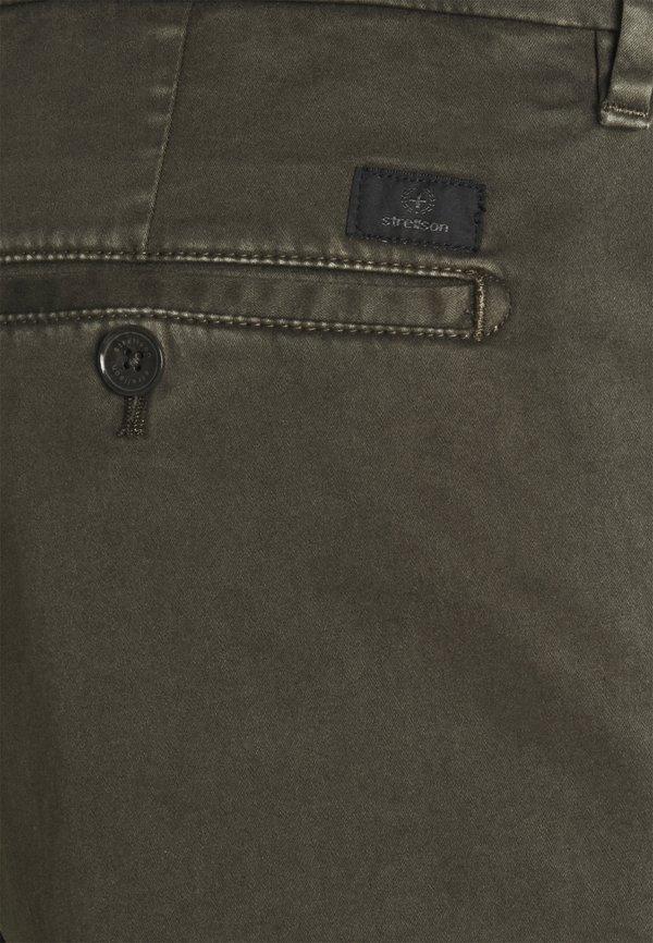 Strellson Chinosy - olive/zielony Odzież Męska ELRE