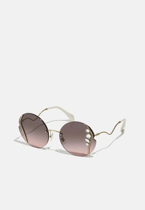 Gafas de sol - pale gold-coloured