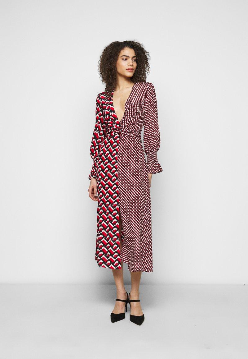 Diane von Furstenberg - MICHELLE DRESS - Vapaa-ajan mekko - red
