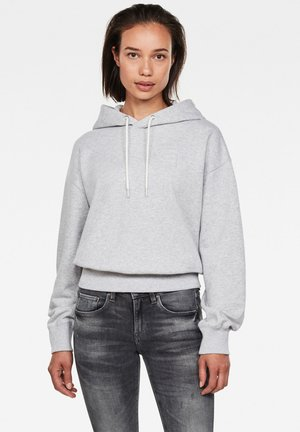 LOOSE HOODED - Hoodie - cool grey htr