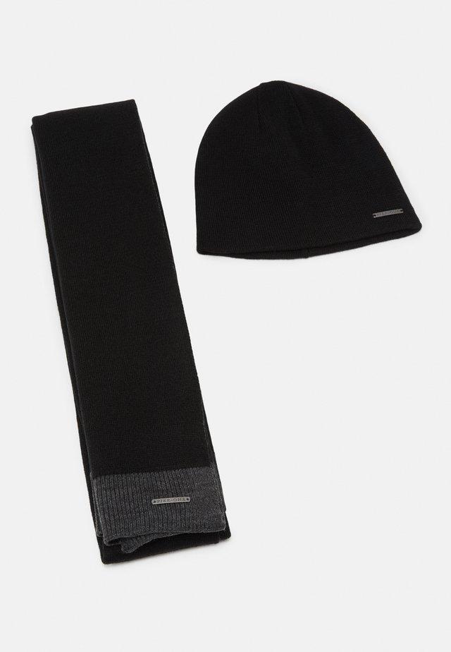 SET - Sjal / Tørklæder - grey/black