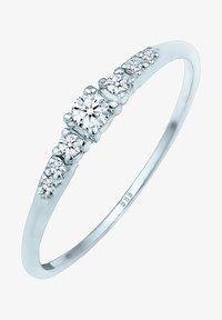 DIAMORE - RING VERLOBUNGSRING DIAMANTEN (0.14 CT) 585 WEISSGOLD - Ring - silver-coloured - 2