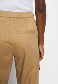 Marc O'Polo PURE - Cargo trousers - beige - 3