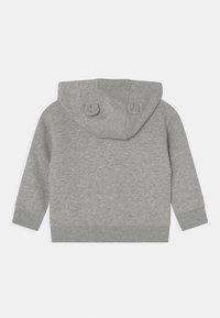 GAP - ARCH HOOD UNISEX - Zip-up sweatshirt - light heather grey - 1